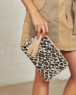 MONA L-SHAPED CLUTCH