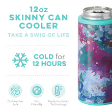 Load image into Gallery viewer, ARTIST SPECKLE 12OZ. SKINNY CAN COOLER