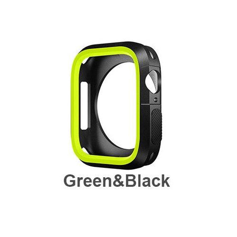 Silicone Bumper and Protector Cover for Sport Apple Watch