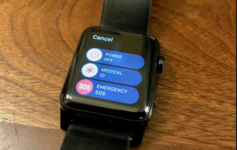 apple watch call 911 by accident
