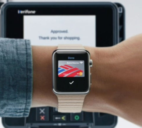 using your Apple Watch as a wallet