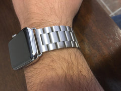 316l Stainless steel apple watch