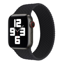 Load image into Gallery viewer, Silicone Braided Stamped Solo Loop Straps for Apple Watch - Wrist Watch Straps