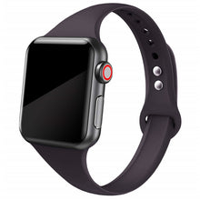Load image into Gallery viewer, Slim Silicone Strap for Apple watch band - Wristwatchstraps.co