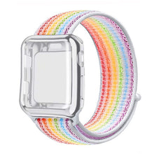 Load image into Gallery viewer, LGBT Pride Edition Nylon Loop Sport Strap and Case Protector - Wrist Watch Straps