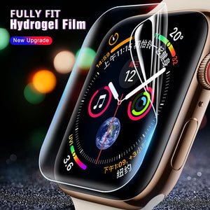 Soft Hydro Gel Film Screen Protector For all Apple Watch Series - Wrist Watch Straps