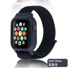 Load image into Gallery viewer, Nylon Sport loop Strap + Case bundle For Apple Watch - Wrist Watch Straps