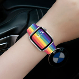 Silicone Strap bands For Apple Watch more colors