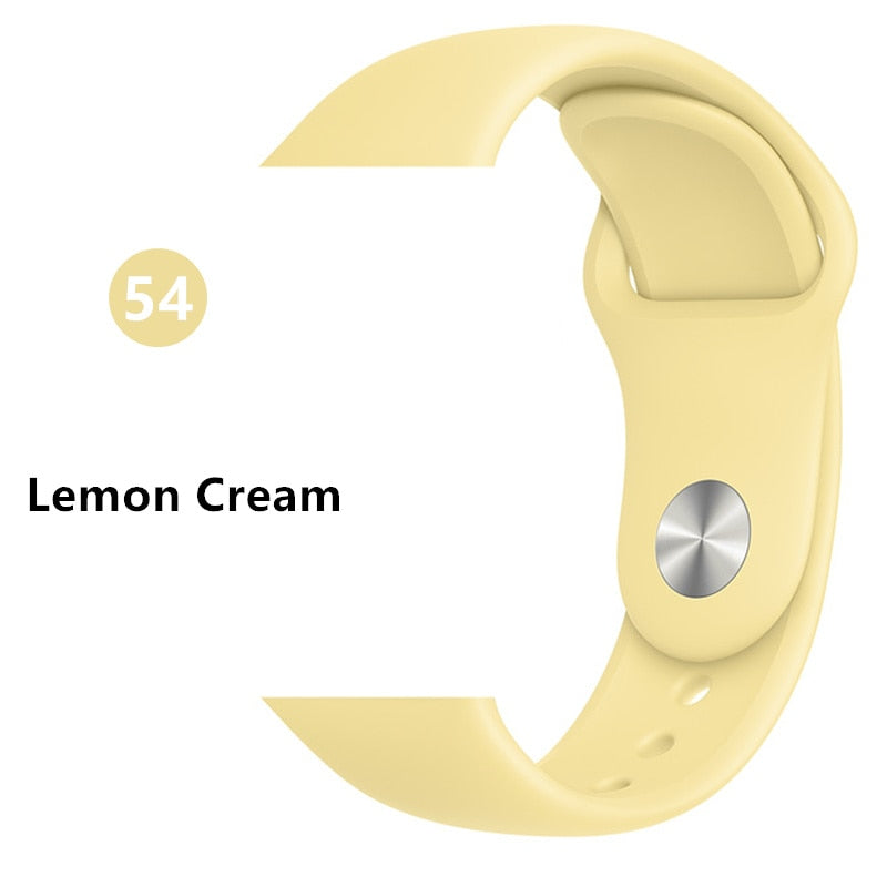 Lemon Silicone strap - Wrist Watch Straps