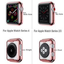 Load image into Gallery viewer, TPU Protector Watch Cover Case with Screen Protection For Apple Watch - Wristwatchstraps.co