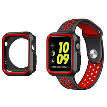 Load image into Gallery viewer, Silicone Bumper and Protector Cover for Sport Apple Watch compatible with Nike Sports Bands - Wrist Watch Straps