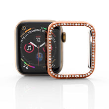 Load image into Gallery viewer, Bling Diamond Rhinestone Screen Protector cover bumper case for Apple Watch - Wristwatchstraps.co
