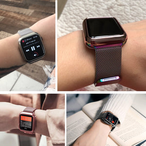 Milanese Loop Strap and Case Combo - Wristwatchstraps.co