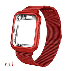 Milanese Loop Strap and Case Combo for Apple Watch - Wristwatchstraps.co