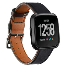 Load image into Gallery viewer, Leather Band for Fitbit Versa - Wristwatchstraps.co