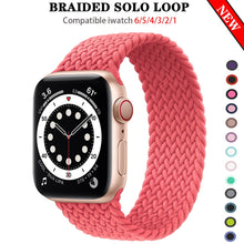 Load image into Gallery viewer, Braided NYLON Loop Strap for Apple Watch