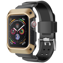 Load image into Gallery viewer, Rugged Shockproof Protective Case with Strap for Apple Watch Military Grade - Wristwatchstraps.co