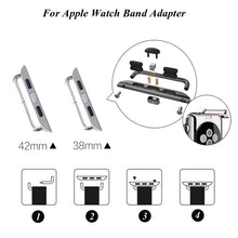 Load image into Gallery viewer, Watchband Connector Adapter For Apple Watch - Wristwatchstraps.co