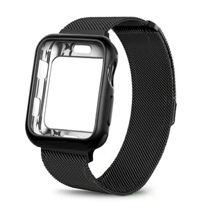 Milanese Loop Strap and Case Combo - Wrist Watch Straps