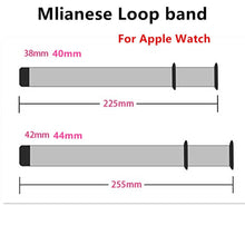 Load image into Gallery viewer, Milanese Loop Strap For Apple Watch - Wrist Watch Straps