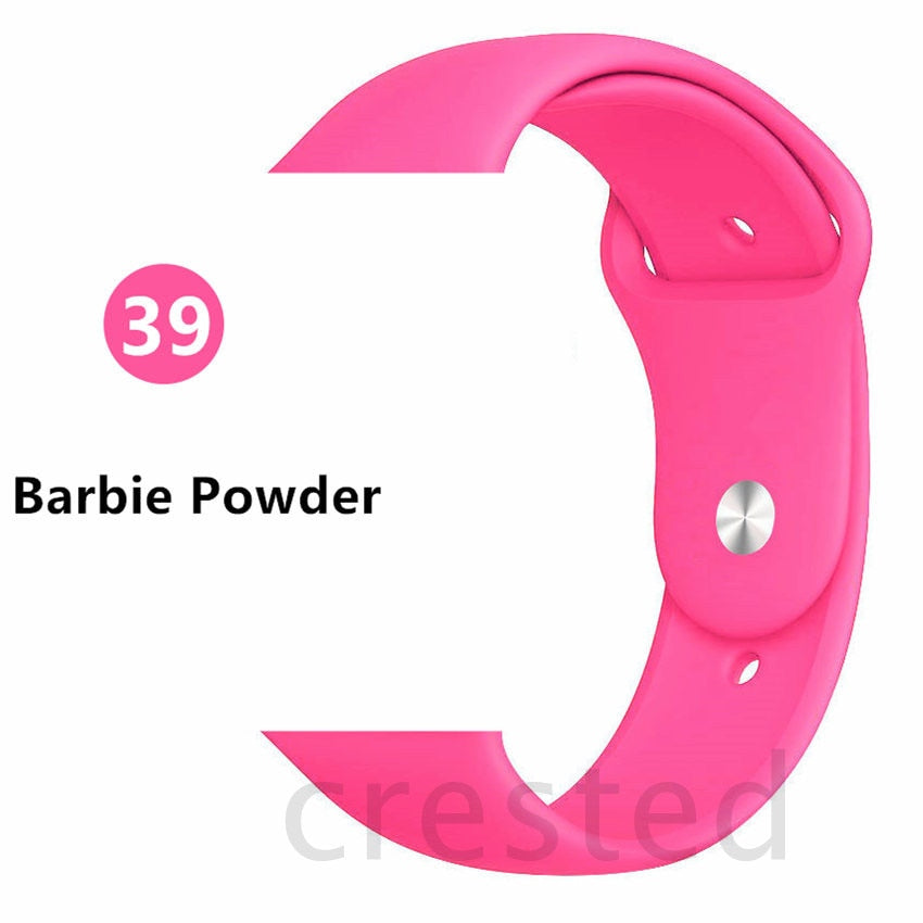 Barbie Powder Silicone strap - Wrist Watch Straps