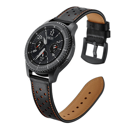 Genuine Leather Band for Samsung Galaxy watch - Wristwatchstraps.co