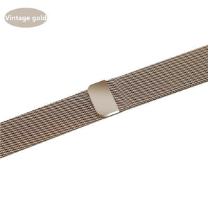 Milanese Loop Strap For Apple Watch - Wristwatchstraps.co