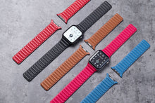 Load image into Gallery viewer, New Magnetic Leather Loop Strap for Apple Watch Series - Wristwatchstraps.co