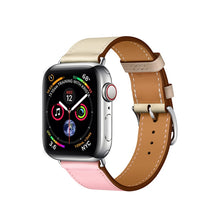 Load image into Gallery viewer, Single Tour Genuine Leather Strap for series 5/4/3/2/1, Hermes, Nike Apple Watches - Wrist Watch Straps