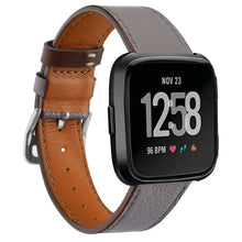 Load image into Gallery viewer, Leather Band for Fitbit Versa - Wrist Watch Straps