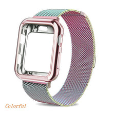 Load image into Gallery viewer, Milanese Loop Strap and Case Combo for Apple Watch - Wristwatchstraps.co