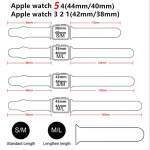 Silicone Strap For Apple Watch - Wrist Watch Straps