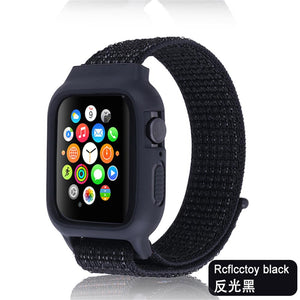 Nylon Sport loop Strap + Case bundle For Apple Watch - Wristwatchstraps.co