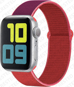 Nylon Sport Loop Strap for Apple Watch Bands - Wristwatchstraps.co