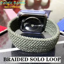 Load image into Gallery viewer, Braided NYLON Loop Strap for Apple Watch - Wrist Watch Straps