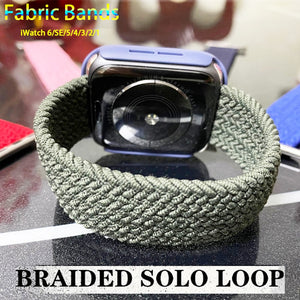 Braided NYLON Loop Strap for Apple Watch - Wrist Watch Straps