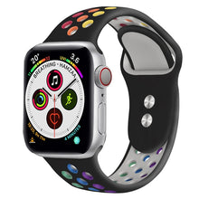 Load image into Gallery viewer, Rainbow Pride Edition Silicone Sports Watch Strap for Apple Watch - Wrist Watch Straps