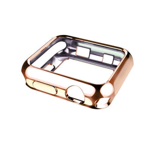 Protective Apple Watch Case in GOLD, SILVER, ROSE - Wristwatchstraps.co