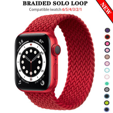Load image into Gallery viewer, Braided NYLON Loop Strap for Apple Watch - Wristwatchstraps.co