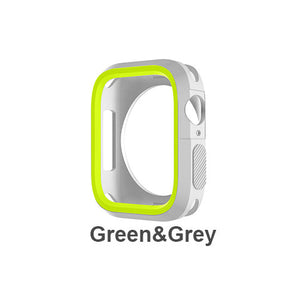 Silicone Bumper and Protector Cover for Sport Apple Watch compatible with Nike Sports Bands - Wrist Watch Straps