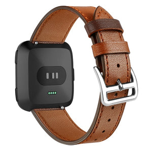 Leather Band for Fitbit Versa - Wristwatchstraps.co