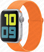 Load image into Gallery viewer, Nylon Sport Loop Strap for Apple watch - Wristwatchstraps.co