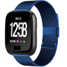 Load image into Gallery viewer, Milanese Stainless Steel band for Fitbit Versa - Wrist Watch Straps