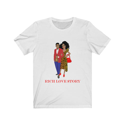 Rich Love $tory Power Couple Unisex Tee