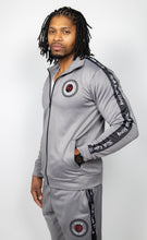 Load image into Gallery viewer, Rich Love $tory Gray Polyester Fleece Track Suit (Men)