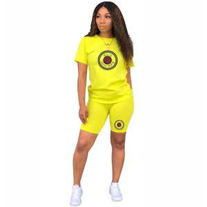 Chill Short Sets (Yellow)