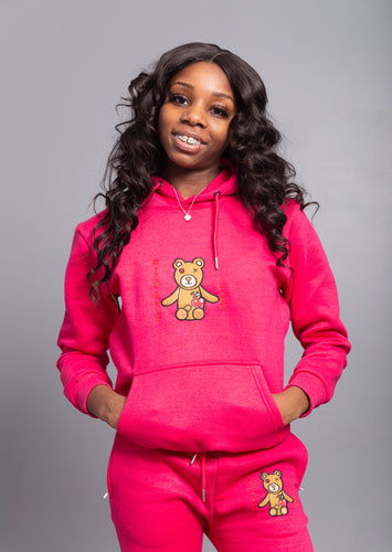 Rich Love $tory Bear Youths Tracksuits Pink (Girls)