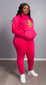 Rich Love $tory Bear Tracksuits Pink(Women)