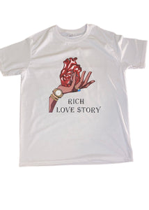 Rich Love $tory Hold My Heart  T-shirt (Unisex)