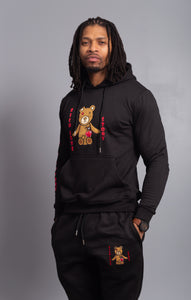 Rich Love $tory Bear Tracksuits Black (Men)